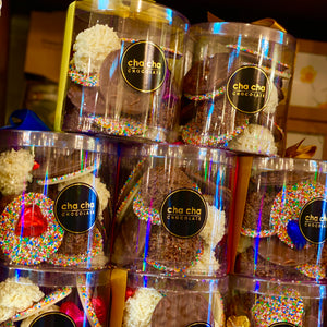 Chocolate Gift Cylinder