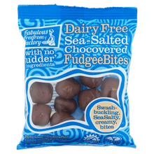 Load image into Gallery viewer, Sea Salted Chocolate Fudgee Bites