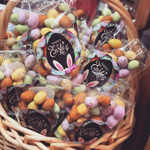 Mini Sugar Shell Truffle Chocolate Eggs