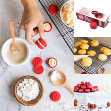 Load image into Gallery viewer, Charlie's Cookies Raspberry White Chocolate Melting Moments
