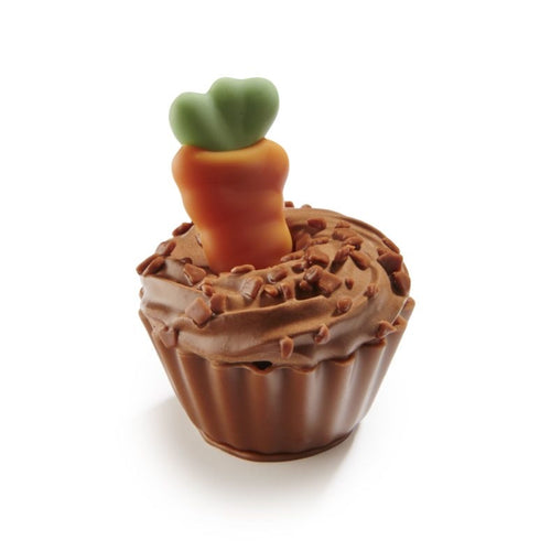 Carrot Chocolate Cup Cake