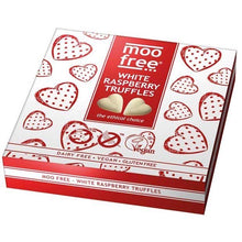 Load image into Gallery viewer, Moo Free Heart Raspberry Truffles