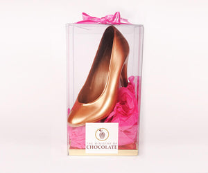 Ministry of Chocolate Gold Stiletto