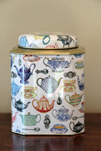 Load image into Gallery viewer, Tea Pots Tea Caddy Tin