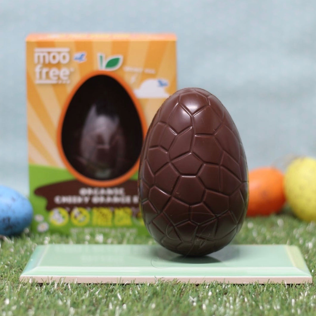 Moo Free Orange Chocolate Easter Egg