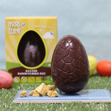 Load image into Gallery viewer, Moo Free Honeycomb Chocolate Easter Egg