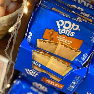 Pop Tarts Frosted Brown Sugar Cinnamon 2 Packs