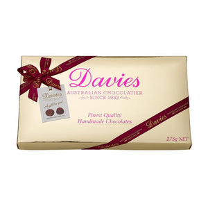 Davies Gold Chocolate Box 140g