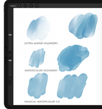 Watercolor Wizardry Brushes for Procreate