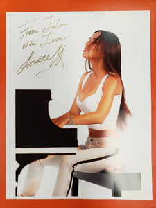 Poster signed personally by Lola.
