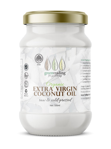 Organic Extra Virgin Coconut Oil  Green Trading
