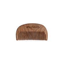 Load image into Gallery viewer, Wooden Neem Comb Mixed Tooth - Green Trading