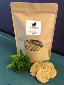 Dog Treats - Minty Fresh Crisps - Dog Bakery