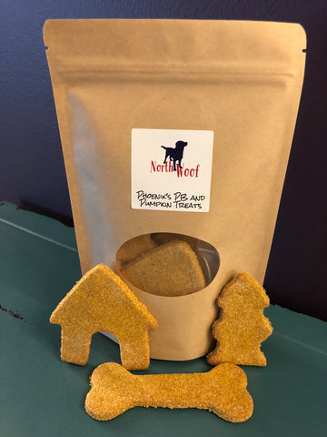 Dog Treats - Phoenix's PB and Pumpkin Treats - Dog Bakery