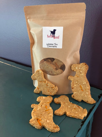 Dog Treats - Waggin' Tail Crackers - Dog Bakery