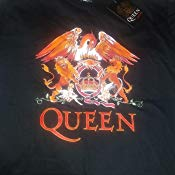 RockOff Official Queen Men's Crest Logo T-Shirt