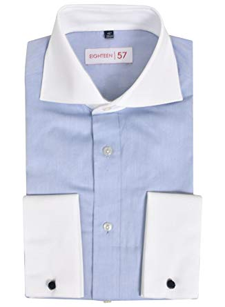 Lloyd Attree & Smith Formal Contrast Collar Shirt
