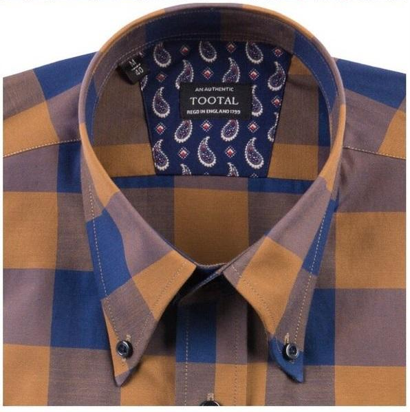 Tootal Shirts Button Down Collar