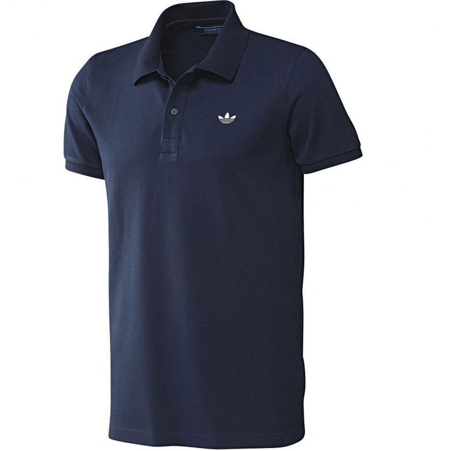 Adidas Polo Shirts - Navy