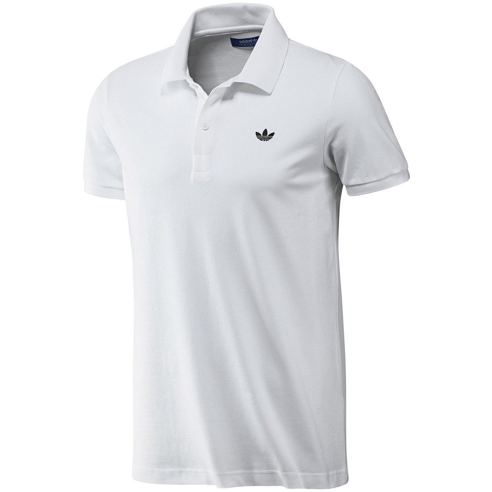 Adidas Polo Shirts - White