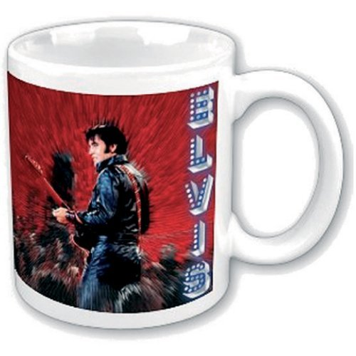 ROCK OFF Elvis Comeback 68 Mug
