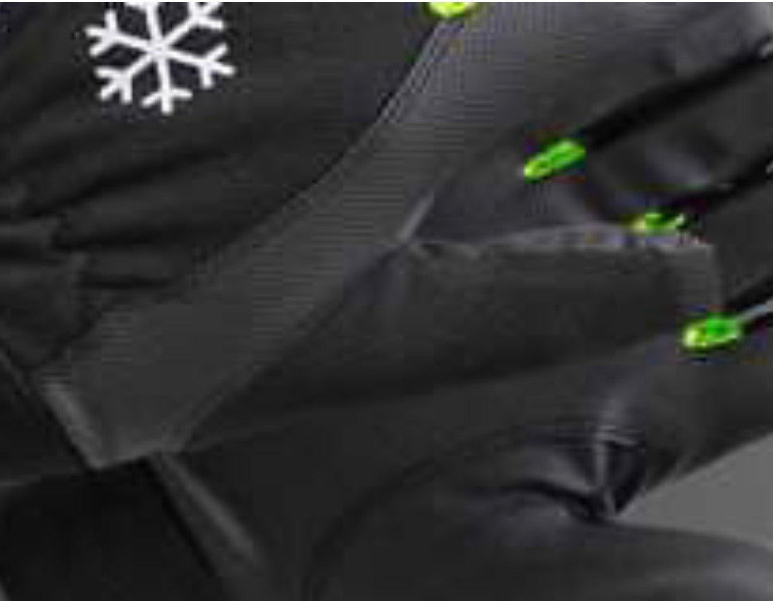TEGERA Winter Fleece Lined Waterproof Windproof Thermal Gloves Cycling
