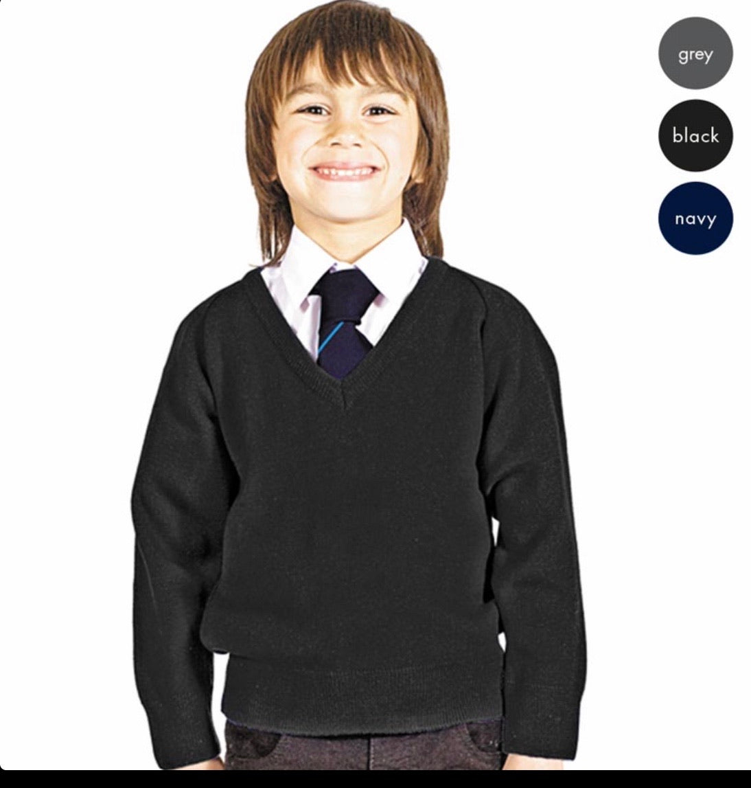 Boys School Jumper