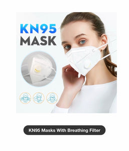 Disposable Respirator Face Mask 3D KN95 FREE DELIVERY