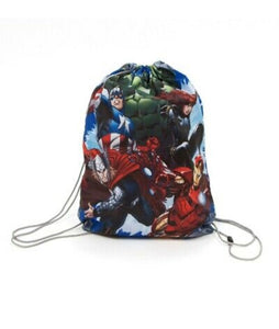 Official Marvel Avengers Boys Girls Drawstring Gym