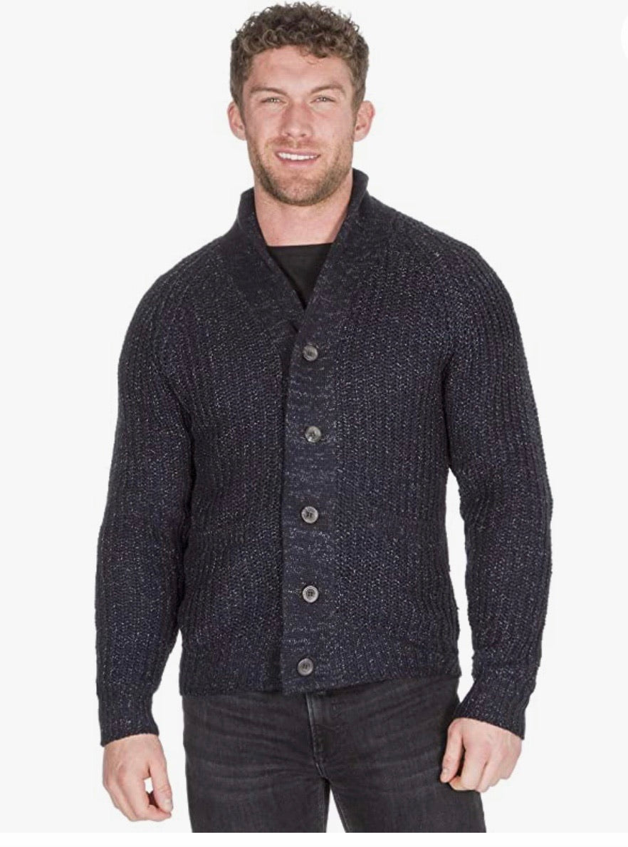 Urban Release men's shawl collar cardigan