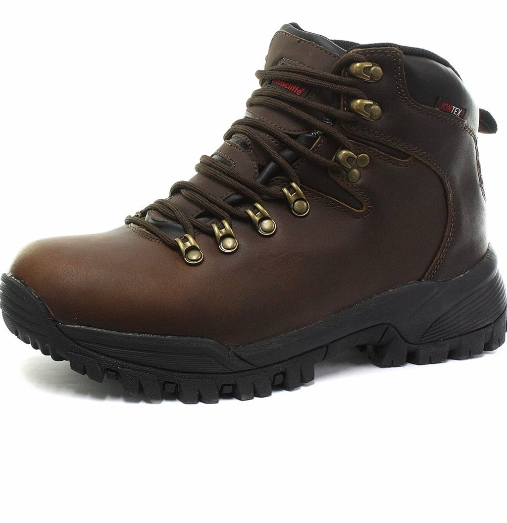 Johnscliffe Canyon Leather Hiking Boot (Brown)