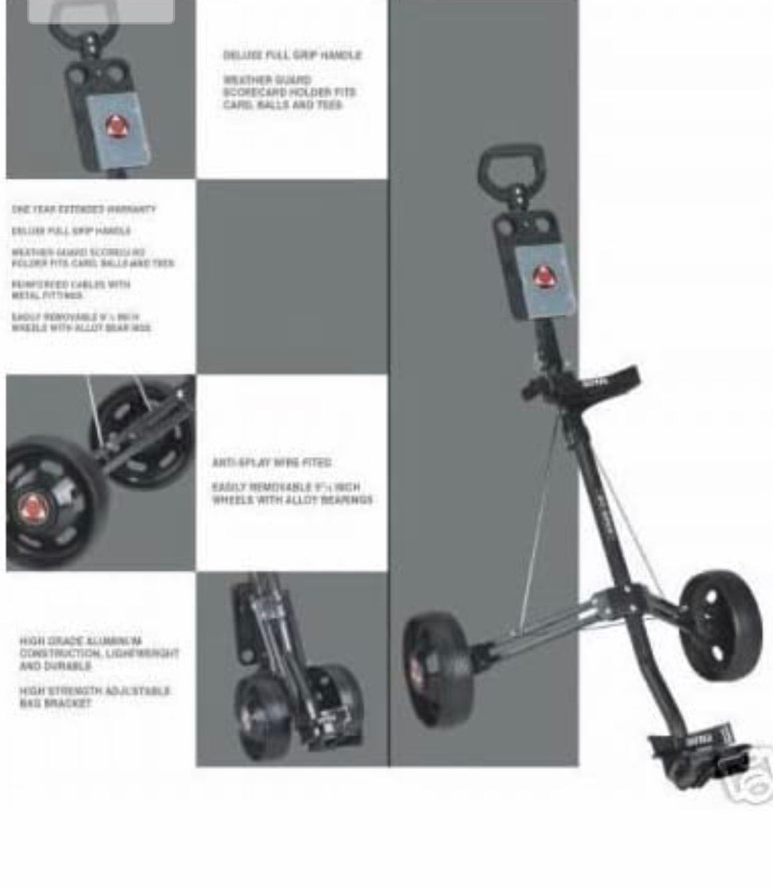 Force1 Complete Golf set (inc FREE Force1 Trolley worth £40)