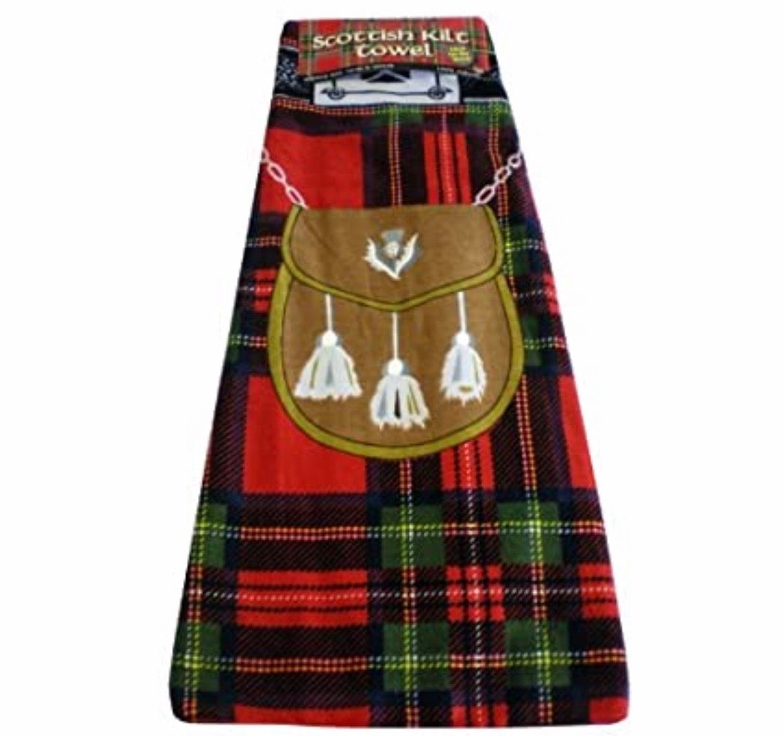 Scottish Kilt Towel