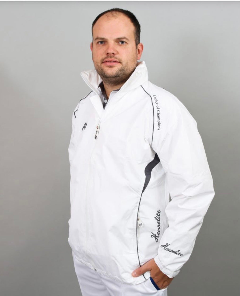 HENSELITE CHOICE OF CHAMPIONS WATERPROOF JACKET