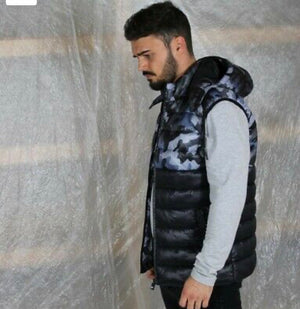 D-Rock gilet body-warmer Black/Blue