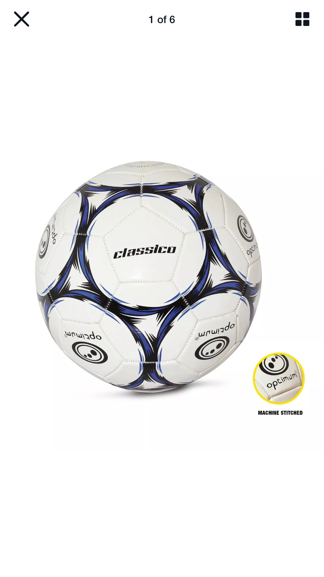Optimum size 5 Football