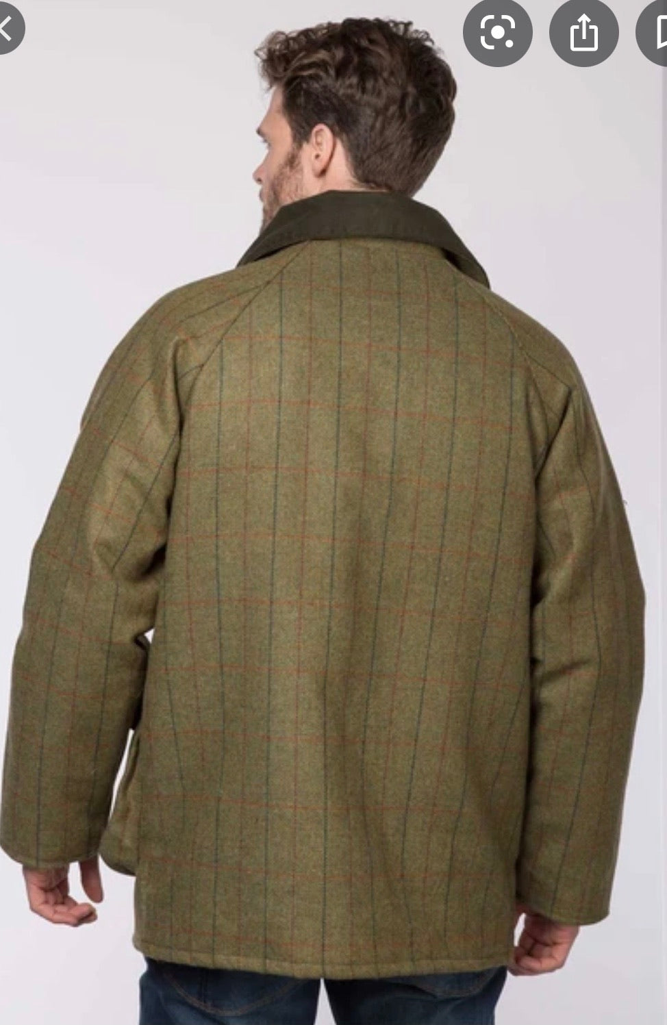 Hunters Heritage Mens Game Tweed Jacket
