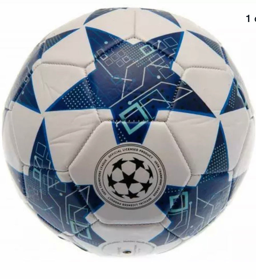 UEFA Champions League Football Size 5 PU Leather 100% Official Souvenir
