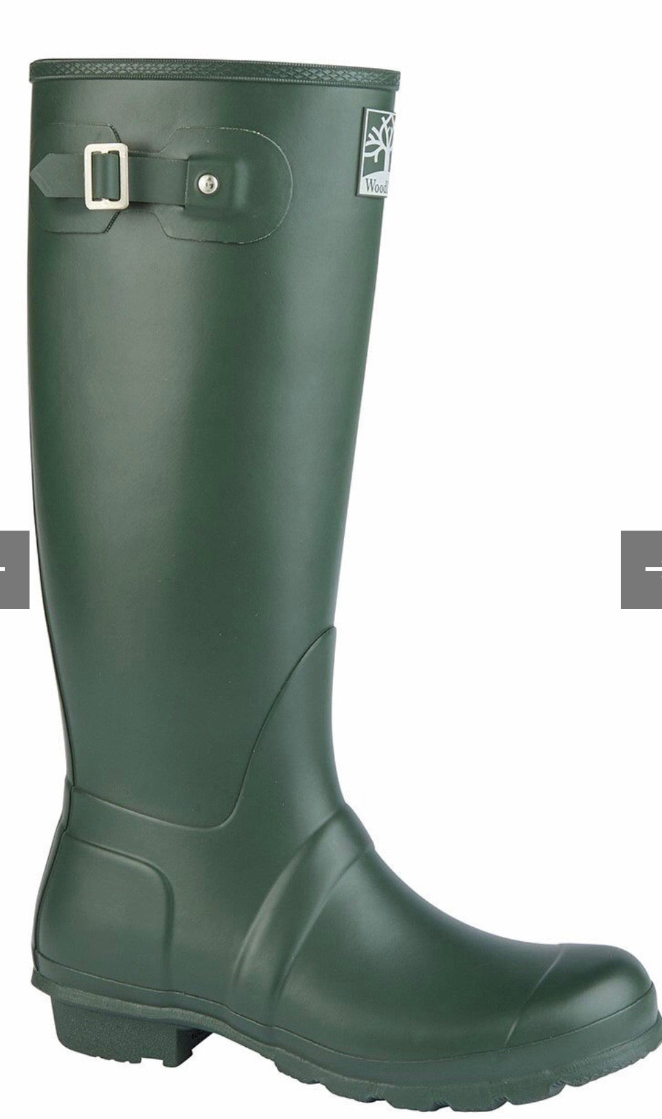 Woodland Regular Fitting Premium Quality Unisex Wellingtons in Green