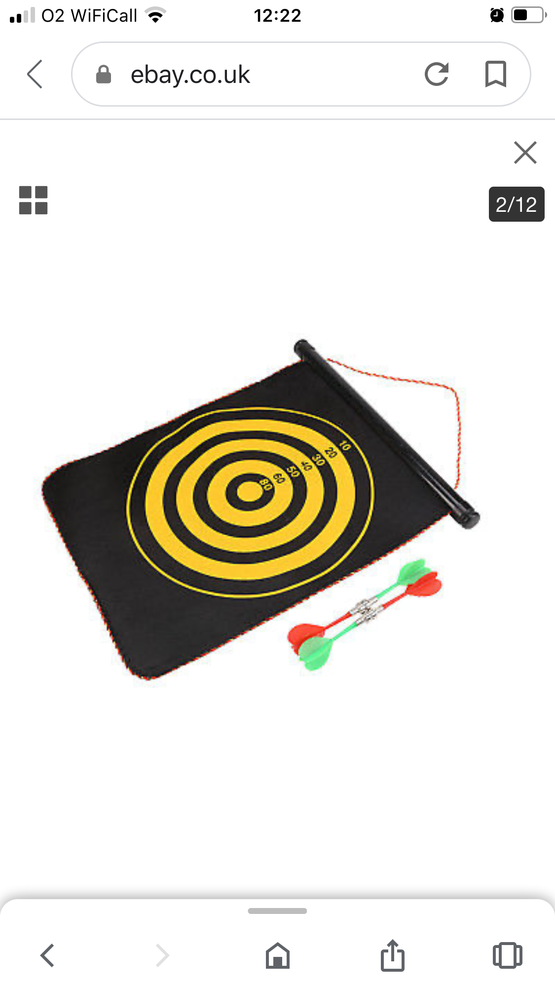 Toy King Magnetic Dart Game