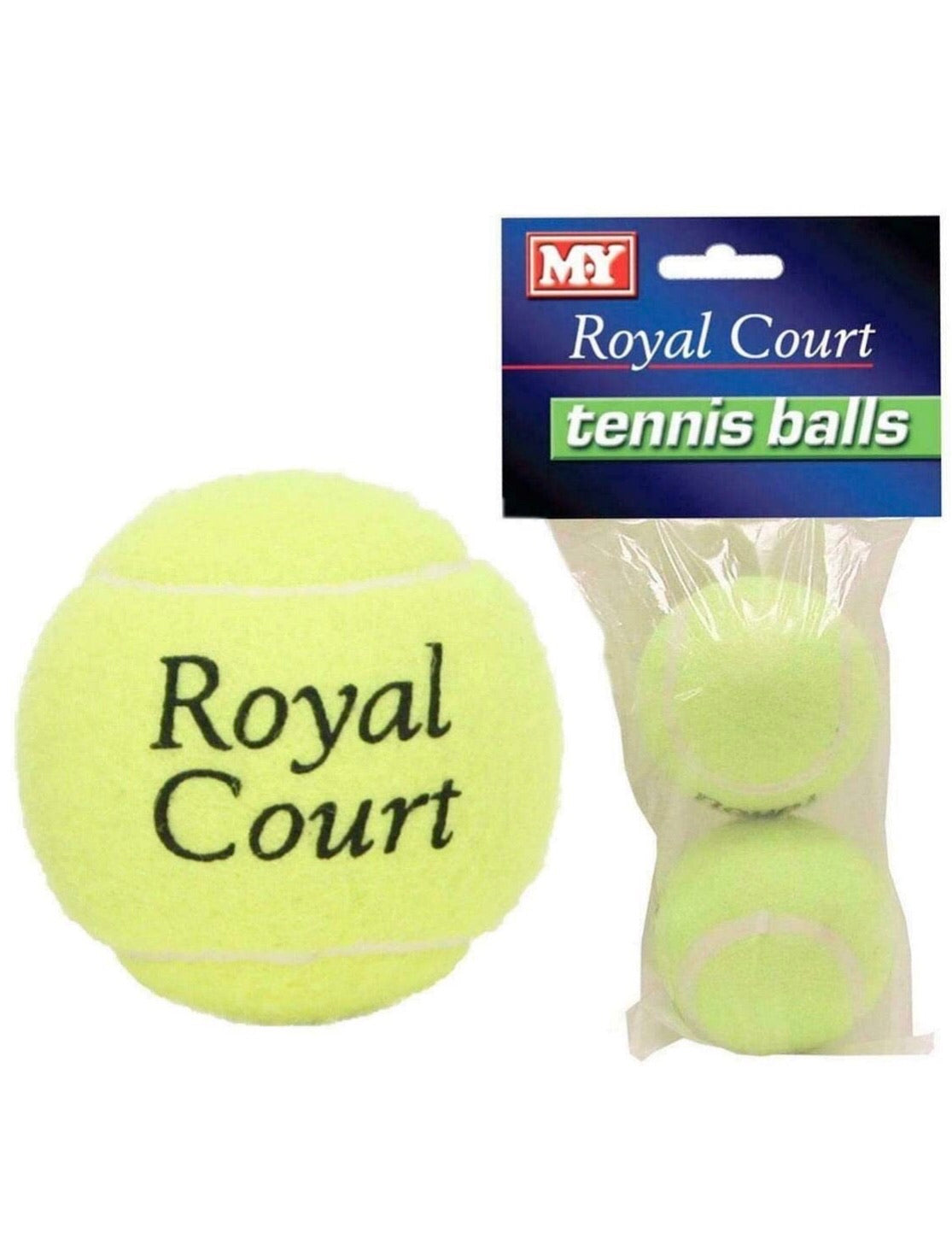 M.Y Royal Court Set of 2 Tennis Balls
