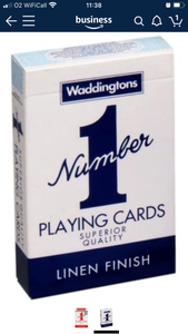 Waddingtons No1 Playing Cards