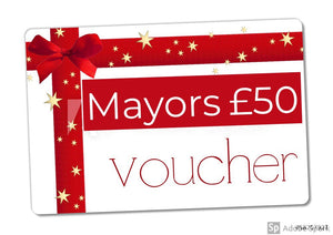 Mayors £50 Gift Voucher