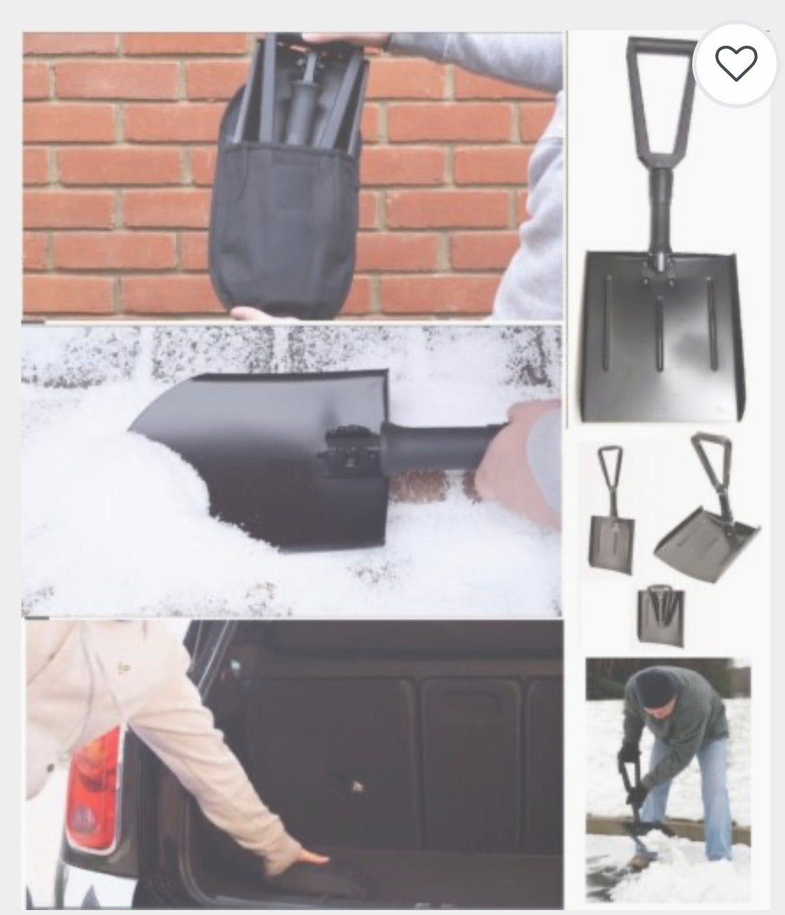 Snow Shovel Collapsable