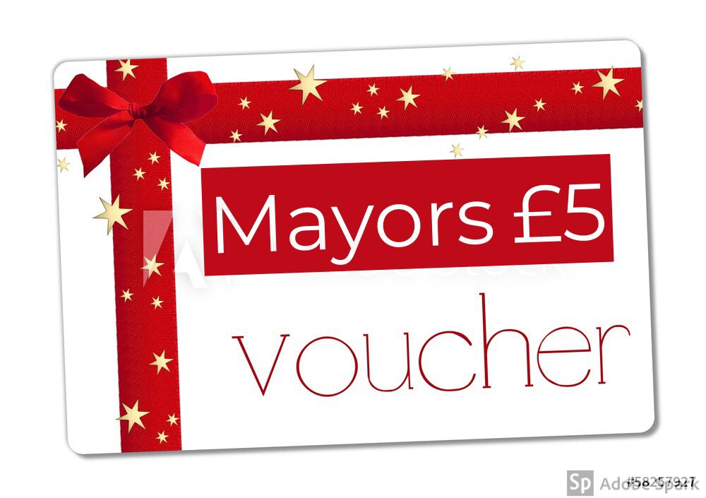 Mayors £5 Gift Voucher
