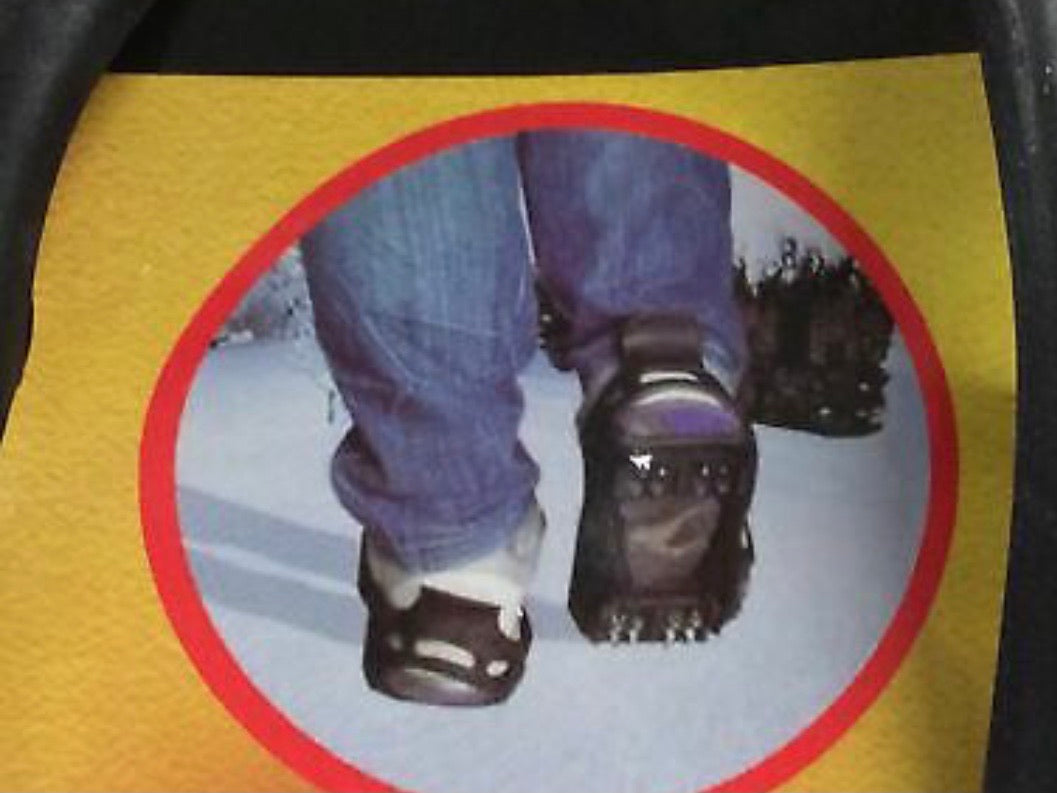 Blackspur Overshoe snow & ice grips