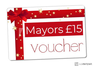 Mayors £15 Gift Voucher
