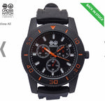 Crosshatch Mens Watch Black