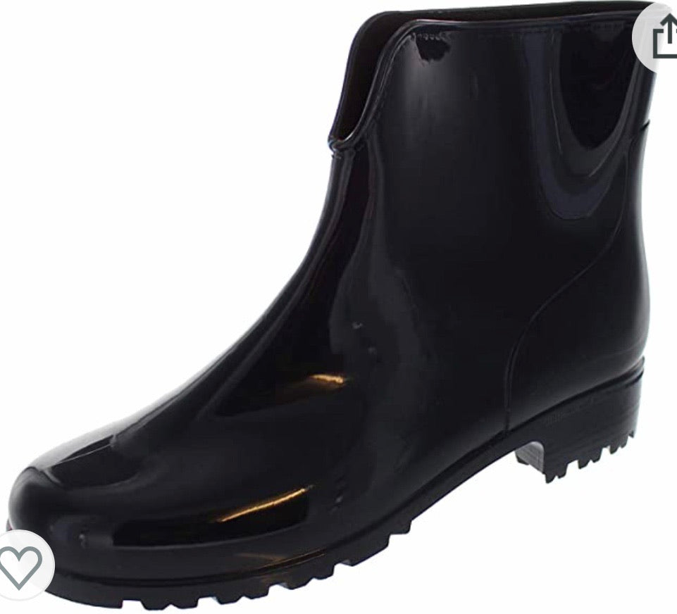 STORMWELLS VIVENNE Ladies Ankle Wellington Boots Navy