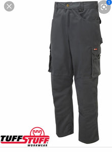 Tuff Stuff Work Trousers Black